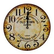 Relógio de parede em madeira Old Town III