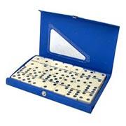 Jogo de dominó 28 peças 7,5 mm