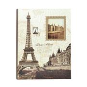 Álbum Torre Eiffel com visor para 200 fotos 10x15 cm