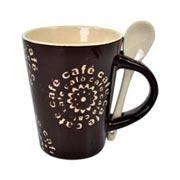 Caneca com Colher Café