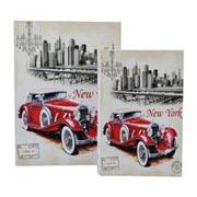 Jogo Livro Decorativo New York 02 pçs