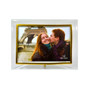 Porta retrato dourado horizontal 13x18