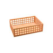 Cesto de bambu Quadrado Vazado 39x27x12 cm