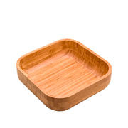 Bowl de bambu Quadrado 23x07 cm