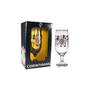 Taça de vidro para cerveja Corinthians 300 ml