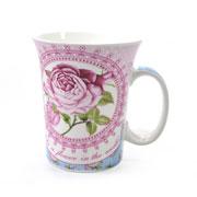 Caneca de porcelana Romântica 320 ml
