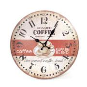 Relógio de parede de madeira 34 cm