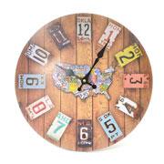 Relógio de parede Vintage 34 cm