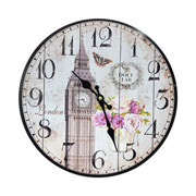 Relógio de parede Cidades 34 cm