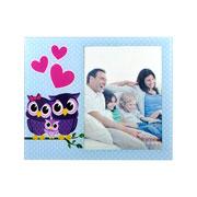 Porta retrato Familia Coruja 15x20 cm