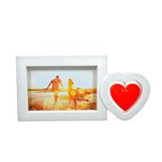 Porta retrato de  coração 15x10 cm