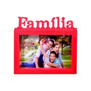 Porta retrato família colors 15x10 cm