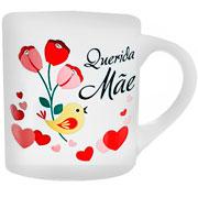 Caneca de cerâmica Querida Mãe 180 ml