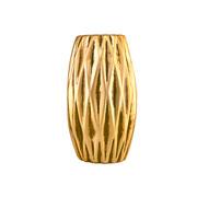 Vaso dourado em cerâmica 15,5 cm