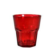Jogo de copos salut vermelho 285 ml 06 peças