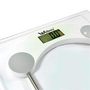 Balança de banheiro digital quadrada 180 kg