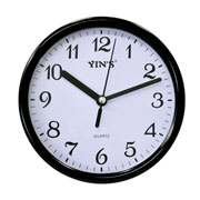 Relógio de parede redondo 15cm