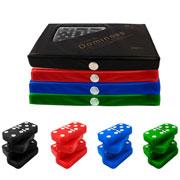 Jogo de domino colors 10 mm. 28 peças