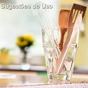 Vaso de vidro Isabela multiuso 1,6 L