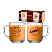 Conjunto de canecas coffe 02 peças
