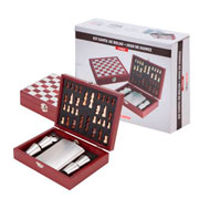 Kit cantil de bolso e jogo xadrez - UniHome