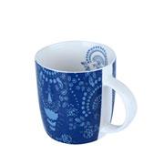Caneca de porcelana provence azul 350 ml