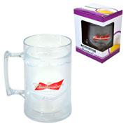 Caneca gel gift budweser cristal 450 ml