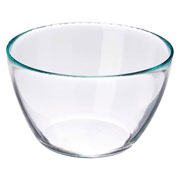 Bowl de vidro tropical M 21x12 cm