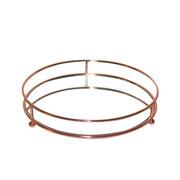 Bandeja de ferro redonda Wire cobre 25 cm