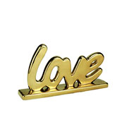 Letras em porcelana love 12 cm