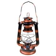 Lampião Cobre c/ luz led cor quente 24,5 cm