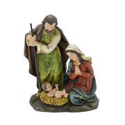 Sagrada familia em resina 20 cm
