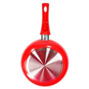 Frigideira com revestimento cerâmico vermelho 24cm