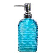 Porta sabonete líquido de vidro colors 500 ml