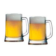 Jogo canecas de cerveja 500 ml 02 peças