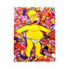 Placa decorativa  simpson  20x26