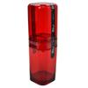 Porta escova splash com tampa vermelho - Coza