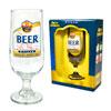 Taça Floripa de vidro rótulo cerveja Pilsen 300 ml