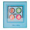 Álbum baby azul auto colante para 20 fotos 20x25 cm