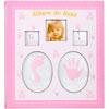 Álbum do bebê rosa para 120 fotos 10x15 cm