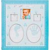 Álbum do bebê azul para 120 fotos 10x15 cm